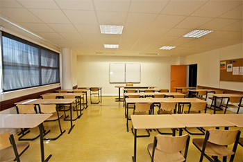 Installation mobilier scolaire