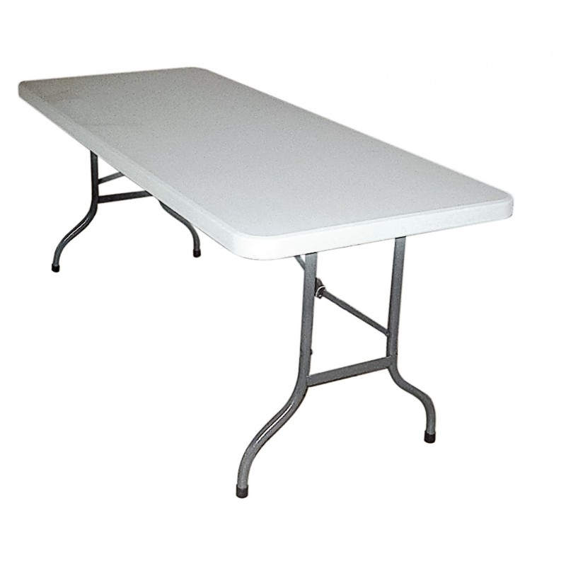 Table pliante en plastique